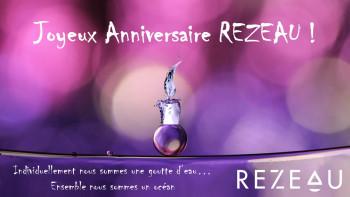 Happy Birthday REZEAU...  déjà 1 an !